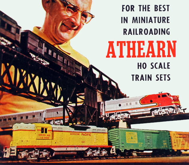About Athearn Trains