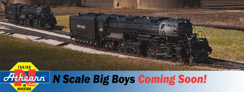 Athearn Trains N-Scale Big Boys Coming Soon!