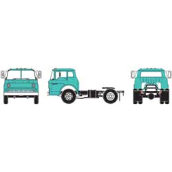 ATH11000 Athearn Inc HO RTR Ford C Tractor, Teal