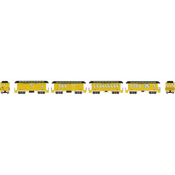 ATH11027 Athearn Inc N 34' Old Time Overton Pass Set, SF (4)