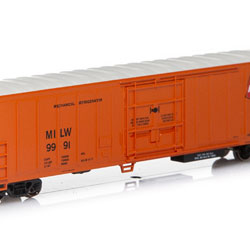 Athearn 11119 N 57' Mechanical Reefer Milwaukee CMStP&P #9991 ATH11119