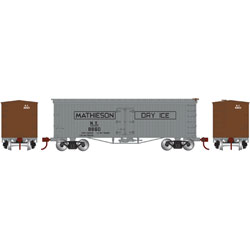 ATH11556 Athearn Inc N 36' Old Time Wood Reefer,Mathieson Dry Ice #8860