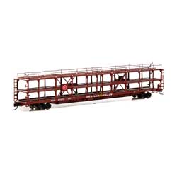 ATH14409 Athearn Inc N F89-F Tri-Level Auto Rack, MP/T&P #911473