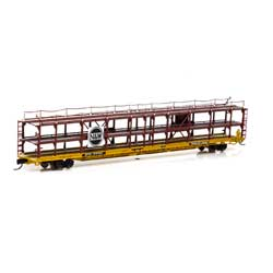 ATH14415 Athearn Inc N F89-F Tri-Level Auto Rack, N&W/RTTX #912125