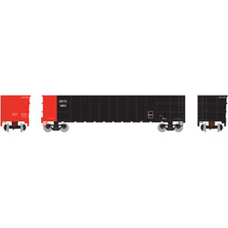 Athearn 16553 N Thrall High Side Gondola w/Load SATX #1005 ATH16553