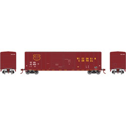 ATH17564 Athearn Inc N 50' FMC Double Door Box, WC #SSAM 43637
