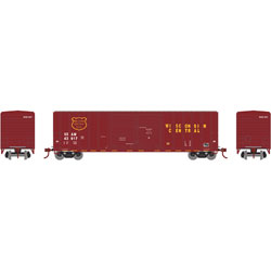 ATH17565 Athearn Inc N 50' FMC Double Door Box, WC #SSAM 43620