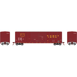ATH17566 Athearn Inc N 50' FMC Double Door Box, WC #SSAM 43641