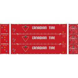 Athearn 17921 HO 53' Jindo Container Canadian Tire -3