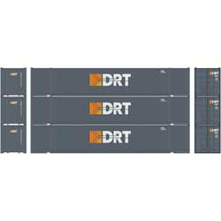 Athearn 17925 HO 53' Jindo Container DRT -3