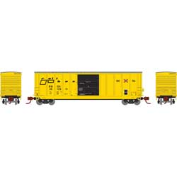 Athearn 2287 N 50' PS 5277 Single Door Box RBOX #35103 ATH2287