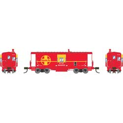ATH23268 Athearn Inc N Bay Window Caboose, SF #999655