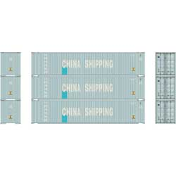 ATH24551 Athearn Inc HO RTR 45' Container, China Shipping (3)