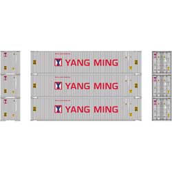 Athearn 24562 HO RTR 45' Container, Yang Ming (3) ATH24562