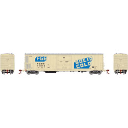 ATH24924 Athearn Inc N 57' Mech Reefer w/Sound, FGE/FGMR/Solid Cold #1