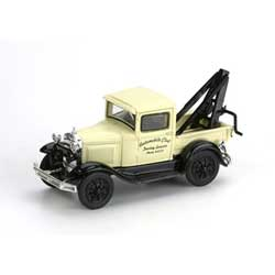 Athearn 26411 HO RTR Model A Tow Truck Auto Club Towing ATH26411