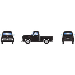 ATH26440 Athearn Inc HO RTR 1955 Ford F-100 Pickup, Black