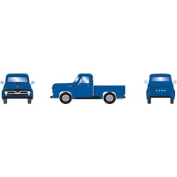 ATH26443 Athearn Inc HO RTR 1955 Ford F-100 Pickup, Blue