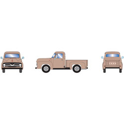 ATH26445 Athearn Inc HO RTR 1955 Ford F-100 Pickup, Tan