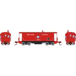 ATH26711 Athearn Inc N Bay Window Caboose, WP #483
