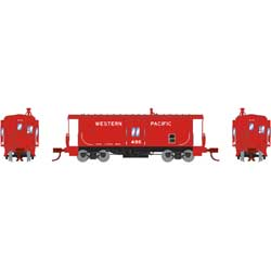 ATH26712 Athearn Inc N Bay Window Caboose, WP #486