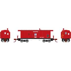 ATH26718 Athearn Inc N Bay Window Caboose, N&W #557537