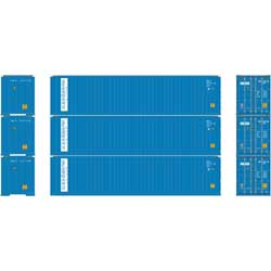 Athearn 27155 HO 40' Hi-Cube Containers SBD (3)