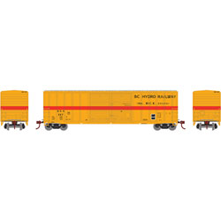 HO RTR 50' FMC Centered Double Door Box, BCH #657
