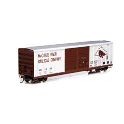 Athearn 27207 HO 50' FMC Centered Double Door Box MCR #2089 ATH27207