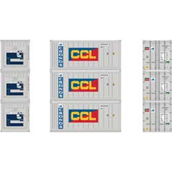 HO RTR 20' Reefer Container, Cronos/CCL (3)