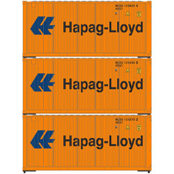 Athearn 28855 HO 20' Corrugated Container Hapag Lloyd -3