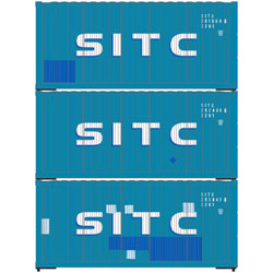 Athearn 28858 HO 20' Corrugated Container SITC -3
