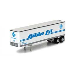 Athearn 5435 N 40' Fruehauf Z-Van Smooth Trailer SF #206699 ATH5435
