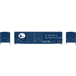 ATH6678 Athearn Inc N 50' FMC Offset Double Door Box, YW #25158