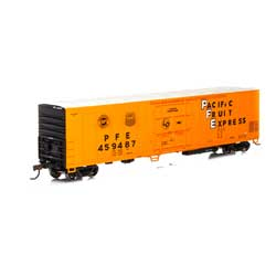Athearn 71170 HO RTR 57' Mechanical Reefer PFE #459487 ATH71170