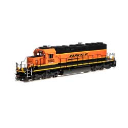 ATH71541 Athearn Inc   HO RTR SD39-2, BNSF/Wedge #1803