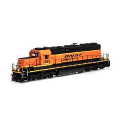ATH71543 Athearn Inc   HO RTR SD39-2, BNSF/Wedge #1883