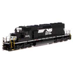 ATH71627 Athearn Inc HO RTR SD40-2 w/DCC & Sound, NS #3515