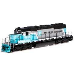 Athearn 71628 HO SD40-2 w/DCC & Sound NS/Maersk #3329
