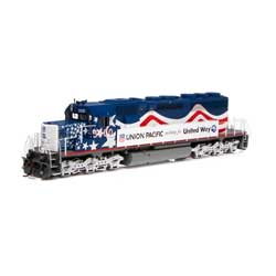 Athearn 71629 HO RTR SD40-2/DCC/SND UP/United Way #3300 ATH71629
