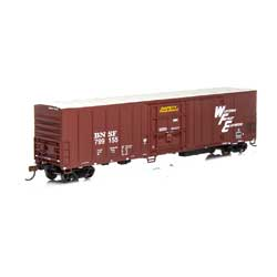 Athearn 72874 HO RTR 57' PCF Mechanical Reefer BNSF/Brown#799155 ATH72874
