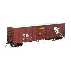 Athearn 72876 HO RTR 57' PCF Mechanical Reefer BNSF/Brown#799209 ATH72876