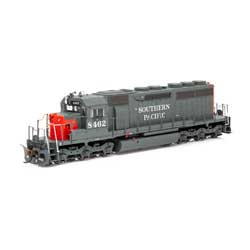 ATH86721 Athearn Inc HO RTR SD40, SP/Red & Grey #8462