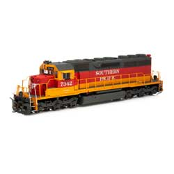 ATH86818 Athearn Inc HO RTR SD40/DCC & SND,SP/Daylight Red/Orange #7342