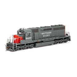 ATH86823 Athearn Inc HO RTR SD40/DCC & SND,SP/Red/Grey/SP on Nose #8437
