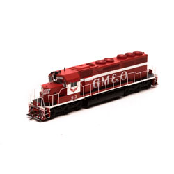ATH86825 Athearn Inc HO RTR SD40 w/DCC & Sound, GM&O/Red & White #913