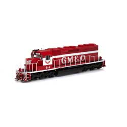 ATH86826 Athearn Inc HO RTR SD40 w/DCC & Sound, GM&O/Red & White #914