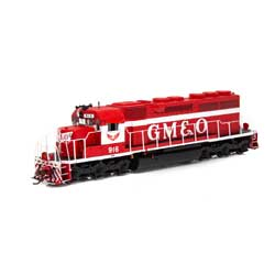 ATH86827 Athearn Inc HO RTR SD40 w/DCC & Sound, GM&O/Red & White #916
