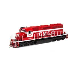 ATH86828 Athearn Inc HO RTR SD40 w/DCC & Sound, GM&O/Red & White #920