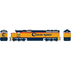 ATH86900 Athearn Inc HO RTR SD50, CSX/Chessie Patched #8553